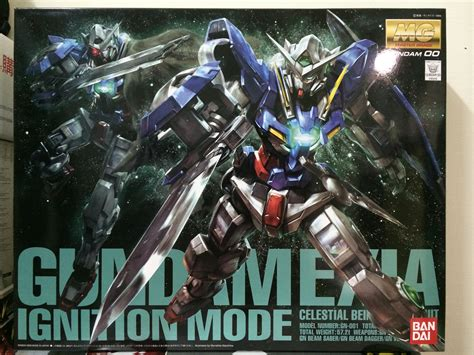 Tg169 Gn 001 Gundam Exia Ignition Mode Mg cat ash