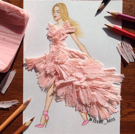 desain gaun unik unik nggak tanggung tanggung 20 sketsa busana ini dibuat