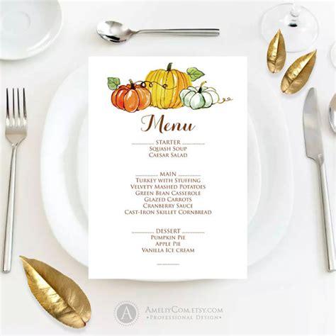 fall menu template fall menu template printable autumn thanksgiving menu fall