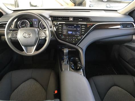 interior camry 2018 new 2018 toyota camry le with upgrade pkg 4 door car in