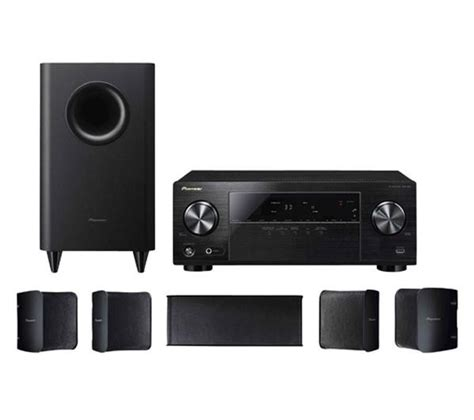 pioneer htp 072 5 1 channel home theater package with