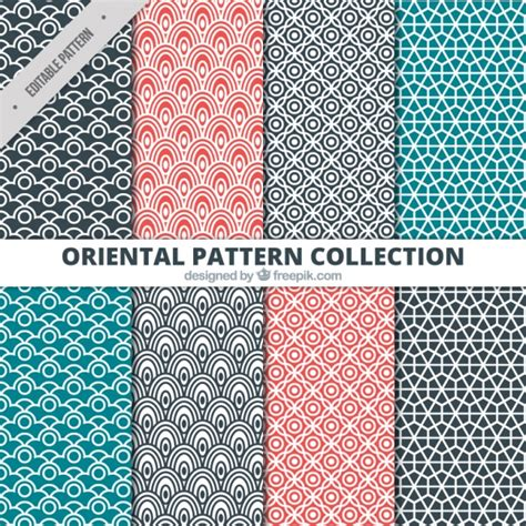 ethnic pattern vector free download ethnic patterns red black and blue vector free download