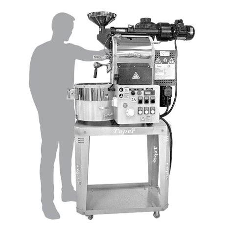 Mini Coffee Roaster W600i cafemino electric mini coffee roaster for cafe coffee shop or micro roastery use from toper