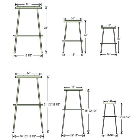 bar stools sizes stool seat size bar stool dimensions guide google