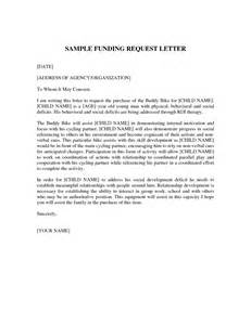 Letter Asking For Funding Best Photos Of Request For Funds Letter Sle Funding Request Letter Sle Sle Request