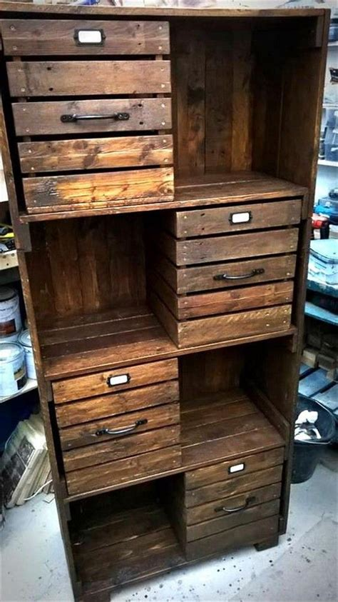 Pallet Cabinet by Top 25 Best Pallet Cabinet Ideas On Pallet