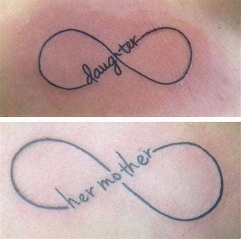 infinity tattoo grace 66 amazing mother daughter tattoos instagram mother