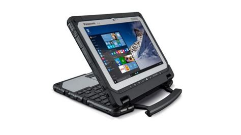 Rugged Laptops In India by Panasonic Toughbook Cf 20 Detachable Rugged Laptop