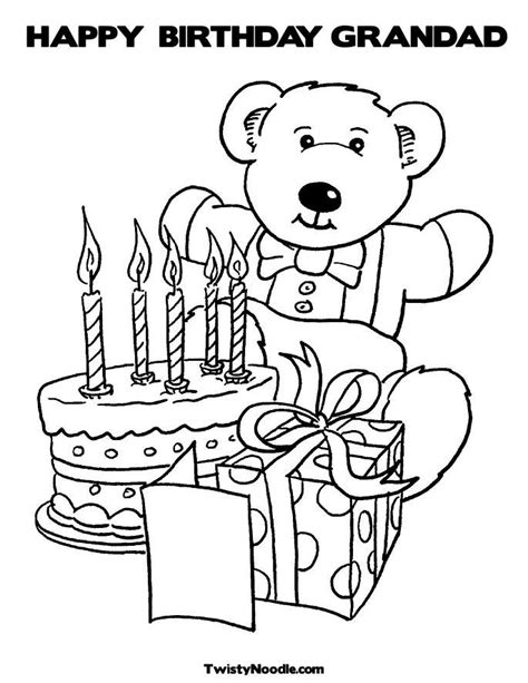 happy birthday papa coloring page happy birthday grandpa coloring pages coloring home