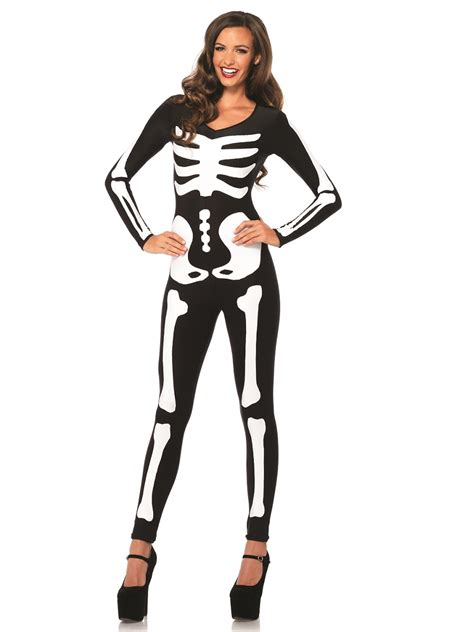 skeleton costume skeleton catsuit costume 85346 fancy dress