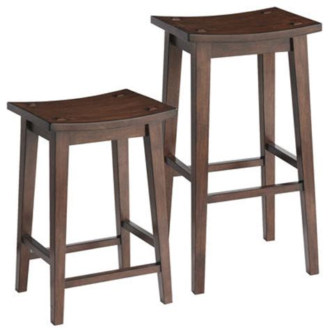 Tuscan Bar Stools by Lawson Backless Bar Counter Stools Tuscan Brown Pier