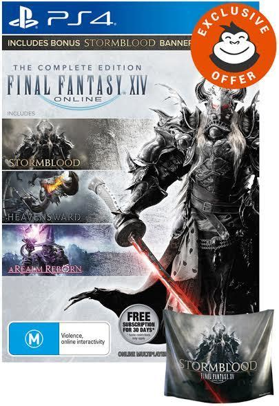 xiv complete edition banner ps4 buy now at mighty ape australia