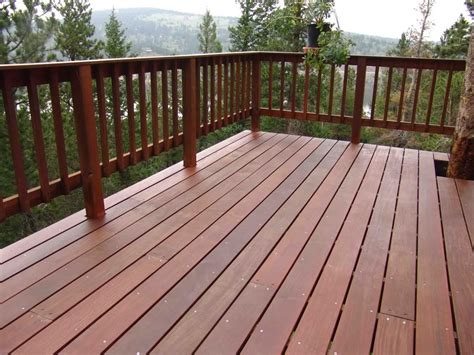 Decking Banister by Wood Deck Railing Composite Deck Railing Wood Deck