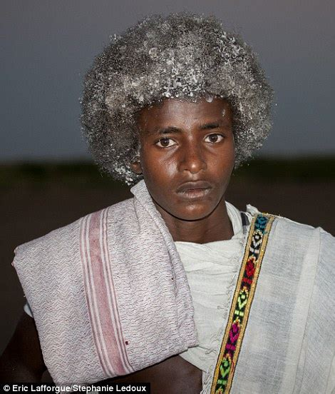 what do ethiopians use in their hair the ethiopian tribes who use butter to style their hair
