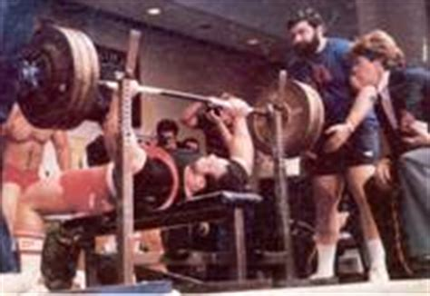 ted arcidi bench press from the desk of yukon hercules