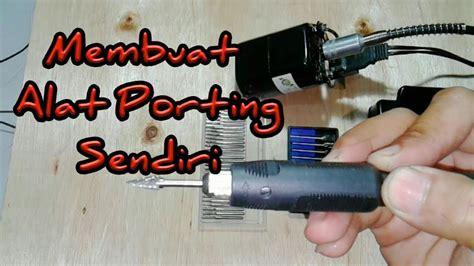 Mesin Jahit Dinamo membuat bor porting dengan dinamo mesin jahit