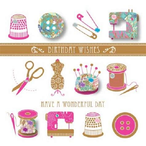 sewn greeting card templates handmade sewing happy birthday greeting card by talking