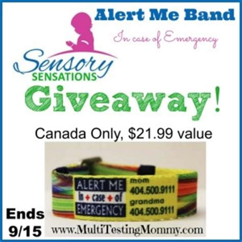 Daily Giveaway Alert - contest win one alert me band your contests canada