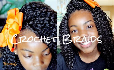 styles for crochet hair for 11 year olds crochet braids little girls edition youtube