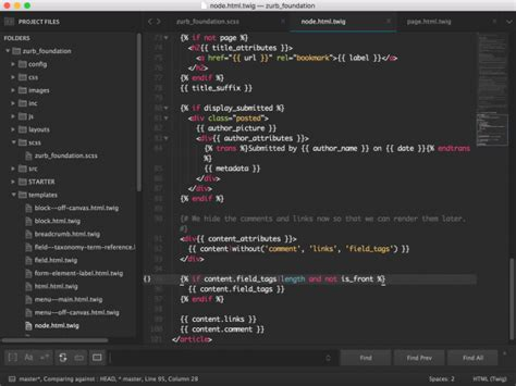 sublime text 3 font theme best code editors for windows 10 that every developer must