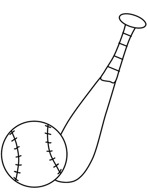 baseball bat template clipart best