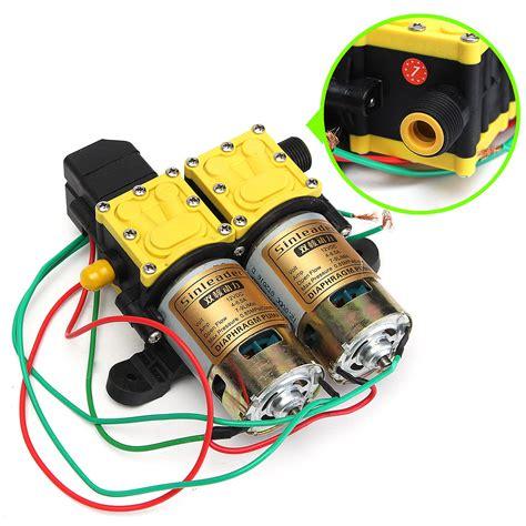 Other Gadgets   8LPM DC 12V Diaphragm Water Pump Washer Self Priming High Pressure