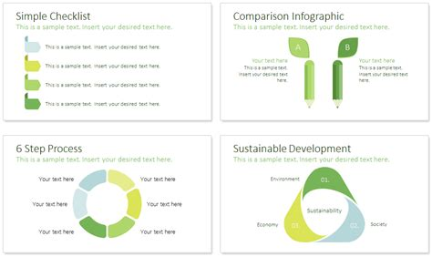 Sustainability Powerpoint Template Presentationdeck Com Sustainability Strategy Document Template