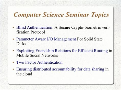 computer science dissertation topics thesis topics in computer science