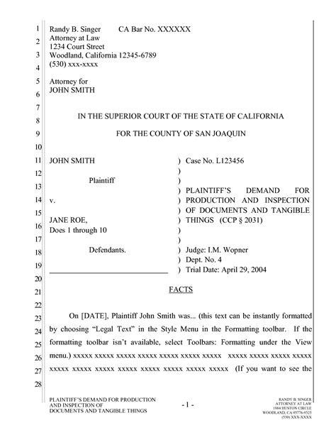 New Challenge Create A California Pleading That Works In Google Drive The Droid Lawyer Court Pleading Template