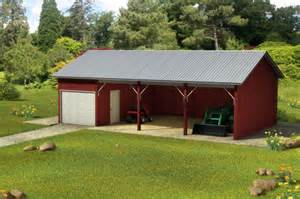 custom building package kits pole barns