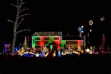 Where To See The Best Christmas Light Displays In Nj Light Show New Jersey