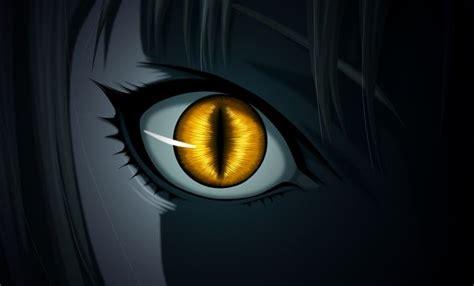anime yellow wallpaper anime claymore evil dark ninja monster snake eyes yellow