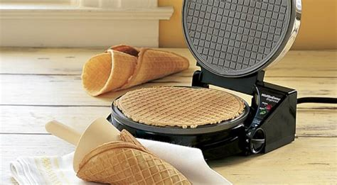Gamis Wafle Crep waffle cone maker