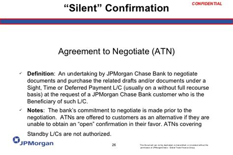 Jpmorgan Bank Letter Of Credit Letter Of Credit 101
