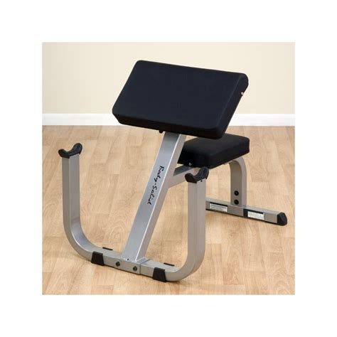 york preacher curl bench body solid gpcb329 preacher curl bench