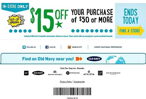 Old Navy Coupons Mobile | old navy mobile coupons mojosavings com
