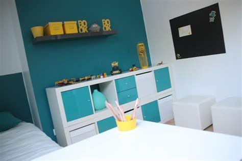 chambre enfant bleu d 233 coration chambre enfant bleu et jaune