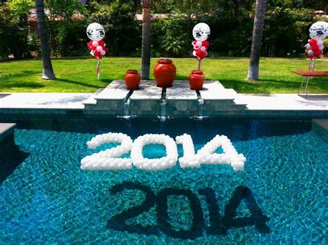 pool party decorations 25 best ideas about floating pool decorations on