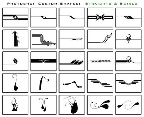 put pattern into shape photoshop 1000 free photoshop custom shapes in 40 sets designbeep