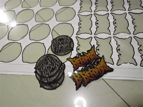 Stiker Bulat Dan Kotak Aneka Warna sticker die cut barometer sticker digital apparel