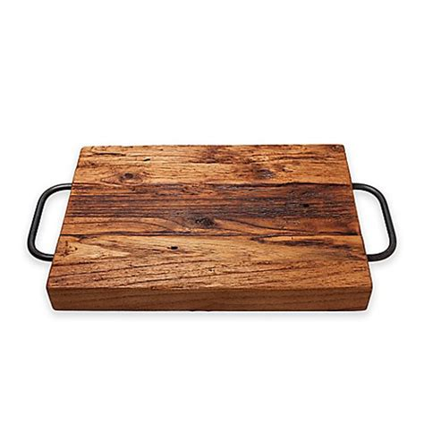 cutting board with trays etuhome 174 farmhouse cutting board and serving tray bed