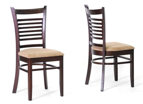Modern Wood Dining Chair Baxton Studio Modern Dining Chairs