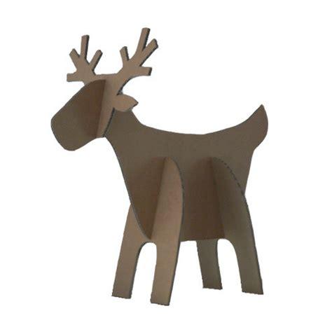 cardboard reindeer folksy