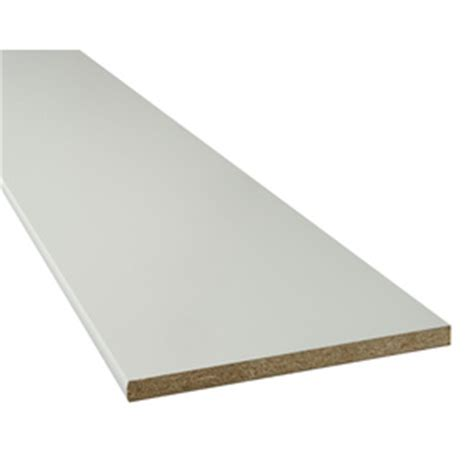 shop particle board 15 25 in w x 73 in l x 0 75 in d white