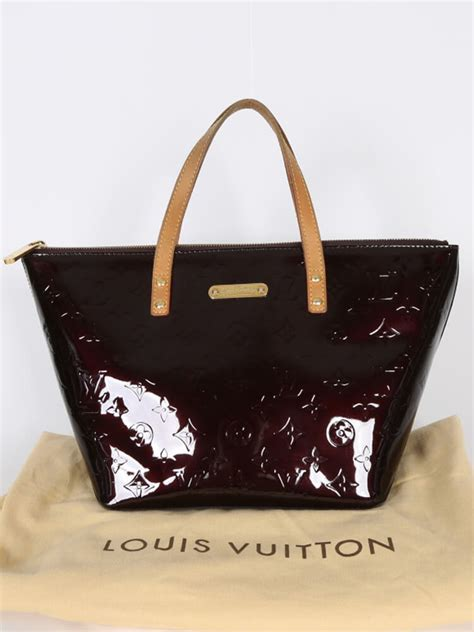 louis vuitton bellevue pm monogram vernis leather
