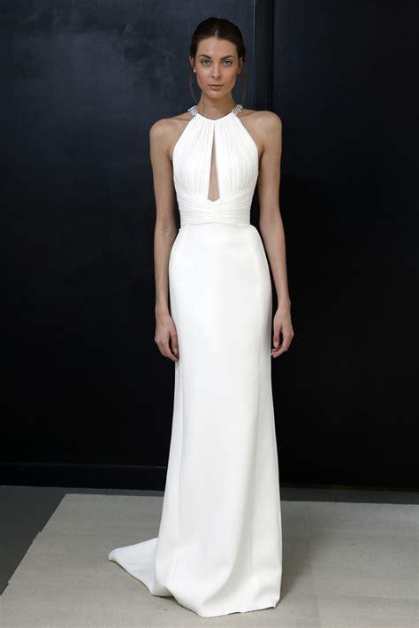 Simple But Elegant Civil Wedding Dress