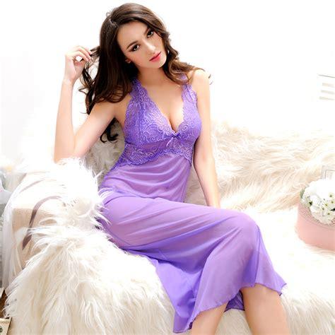 Bra Gstring Baju Tidur Sleepware Kostum 4 aliexpress buy summer womens nightdress with g string thongs spaghetti backless