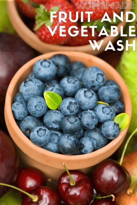 fruit and vegetable wash fruit and vegetable wash produce lasts longer