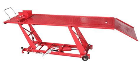 motorcycle hydraulic bench motorcycle lifting table bike lift bench hoist hydraulic