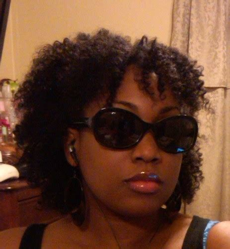 kinky marley twist with a bang soft twist out with bangs by curvaceouskinks